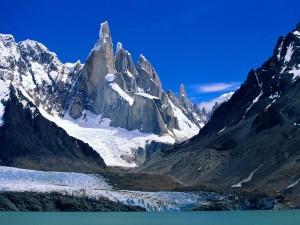 Postal: Monte Fitz Roy (cerro Chaltén), Patagonia