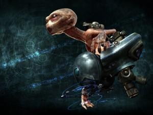 Postal: Vehículo alienígena