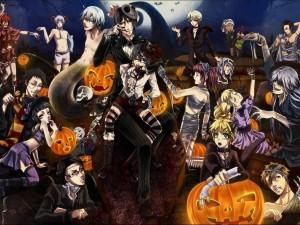 Postal: Manga en Halloween
