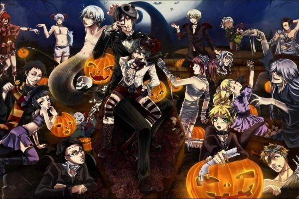 Manga en Halloween