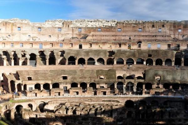 Ruinas del Coliseo (Roma, Italia)