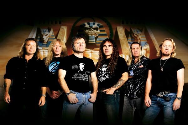 """La banda británica de heavy metal """"Iron Maiden"""""""