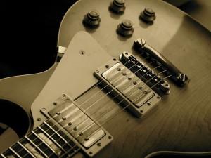 "Postal: Guitarra ""Gibson Les Paul"""