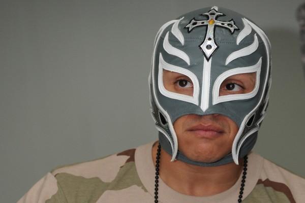 El luchador profesional Rey Mysterio