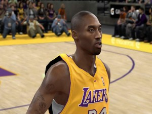Kobe Bryant en un videojuego