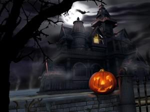 Casa tenebrosa de Halloween