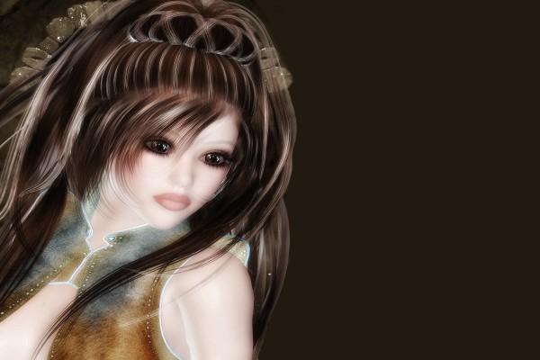 Un peinado de princesa