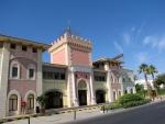 Edificio de estilo árabe