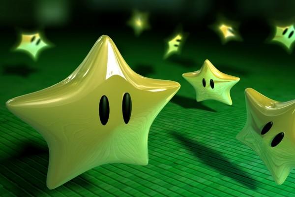 Estrellas doradas de Mario Bros
