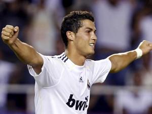 Cristiano Ronaldo con la camiseta del Real Madrid