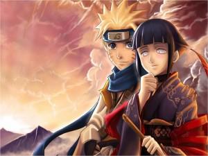 Postal: Naruto y Hinata