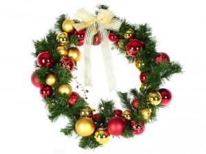 Corona para Navidad