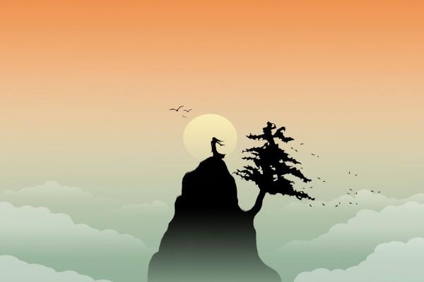 Una princesa en la cima de la montaña
