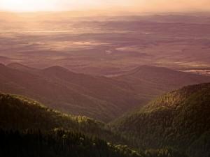 Postal: Montañas Fagaras (Rumania)