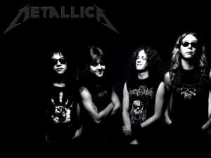 Metallica en blanco y negro