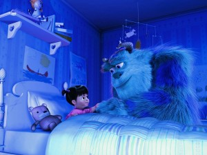 "Escena de ""Monsters, Inc."" (Monstruos, S.A.)"
