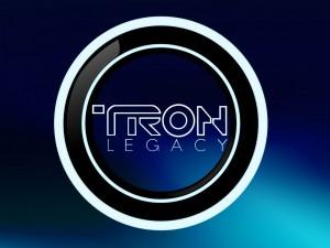 """Postal: Logo de la película """"Tron: Legacy"""" (Tron: El Legado)"""