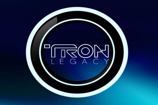 """Logo de la película """"Tron: Legacy"""" (Tron: El Legado)"""