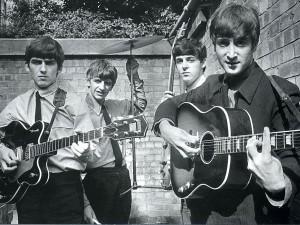 Los Beatles muy jóvenes