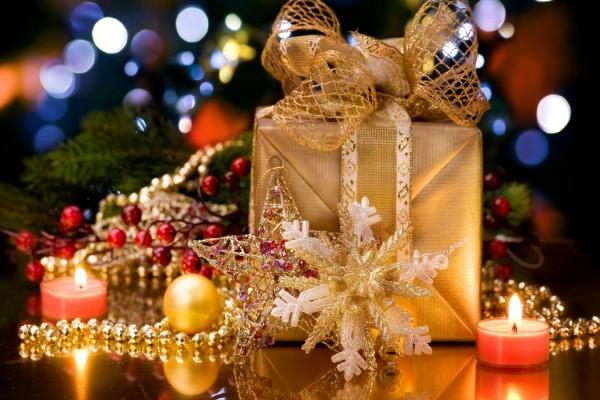 Caja de regalo para Navidad