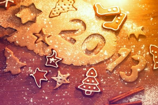 Galletas para el Año Nuevo 2013