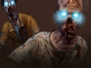 "Zombis de ojos iluminados en Call of Duty: Black Ops 2 ""Zombies"""