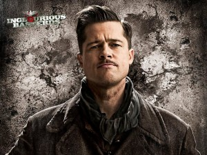 "Brad Pitt en ""Inglourious Basterds"" (Malditos bastardos), dirigida por Quentin Tarantino"