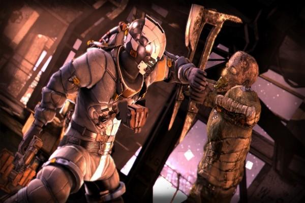 Lucha a muerte con un necromorfo en Dead Space 3