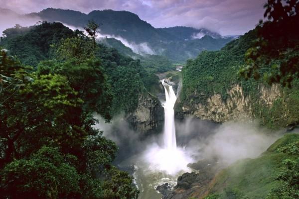 Cataratas San Rafael, río Quijos, Amazonas, Ecuador