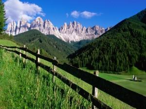 Postal: Las Dolomitas (Italia)