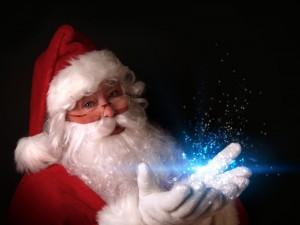 Postal: La magia de Santa Claus