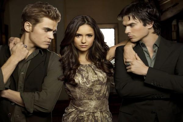 """Personajes principales de """"The Vampire Diaries"""" (Crónicas vampíricas)"""