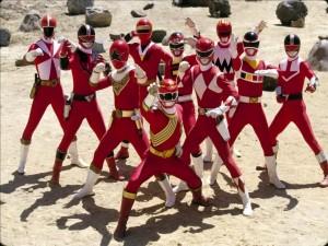 Postal: Power Rangers
