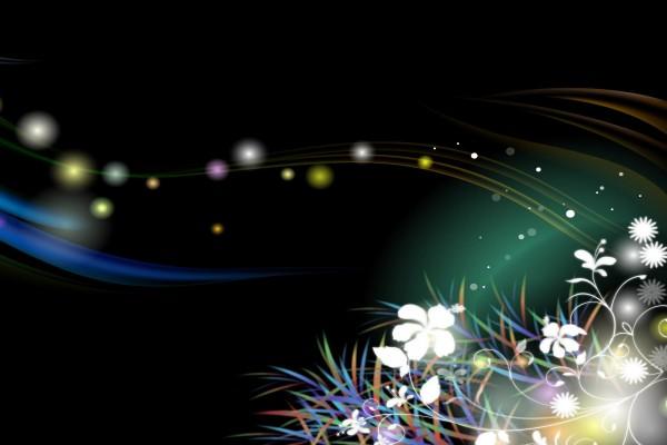 Motivos florales virtuales