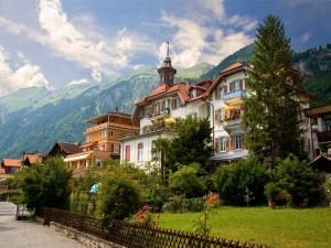 Brienz, cantón de Berna, Suiza