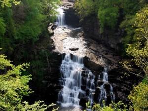 Cataratas de Clyde, Escocia