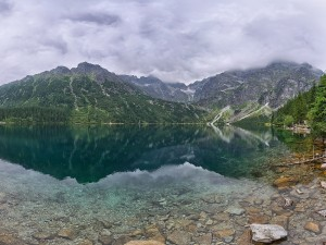 Postal: Morskie Oko (Montes Tatras, Polonia)