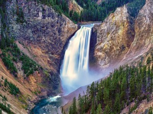 Lower Falls, Parque nacional Yellowstone
