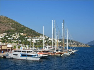 Puerto de Bodrum (Turquía)