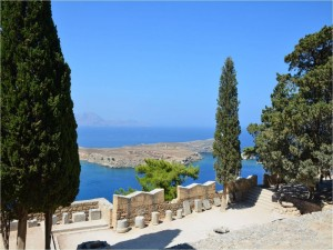 Lindos, isla de Rodas (Grecia)