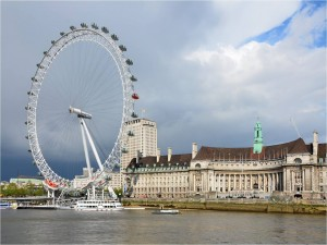 El London Eye (Ojo de Londres)
