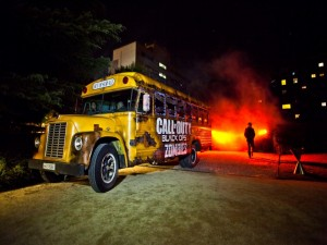 "Autobús de ""Call of Duty Black Ops II Zombies"""