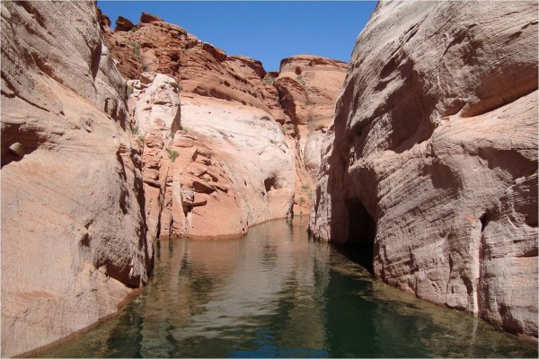 El lago Powell (Arizona)