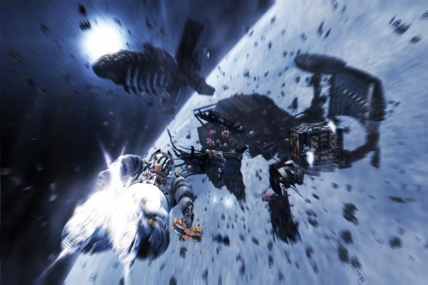 Acción en el espacio exterior en Dead Space 3