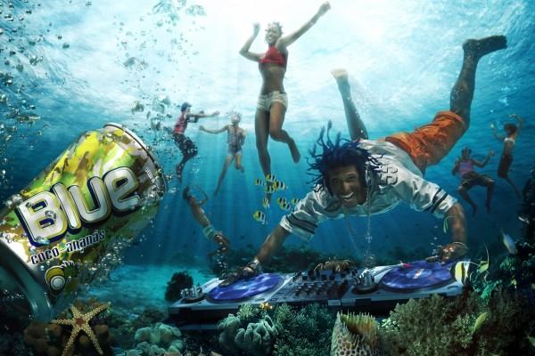 Fiesta en el fondo del mar