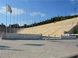 Postal: Estadio Olímpico de Atenas (Grecia)