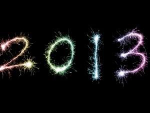 Postal: Feliz Año 2013