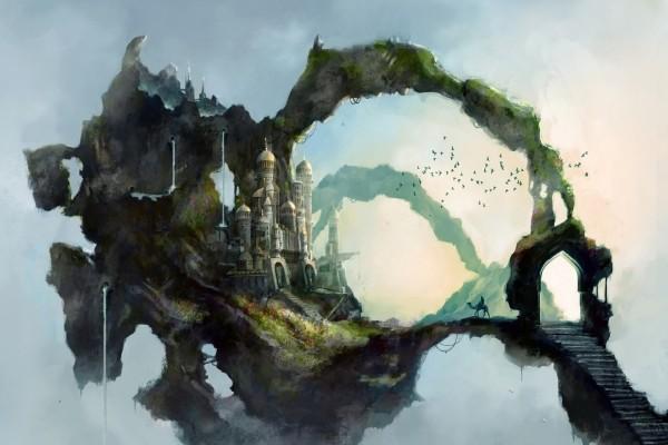 Un palacio persa en el cielo