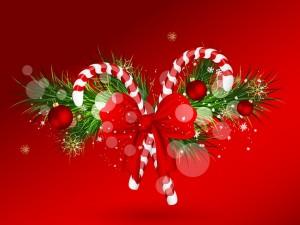 Postal: Adorno navideño