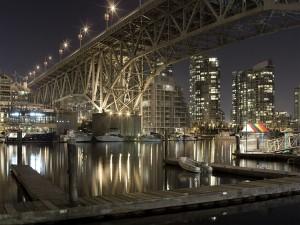Postal: Puente de Granville (Vancouver, Canadá)